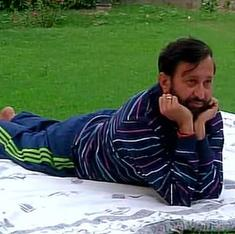 'Javadekar's yoga mattress does a U-turn': Twitter reacts to minister's yoga poses