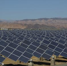 China is building a massive solar plant in the Gobi desert
