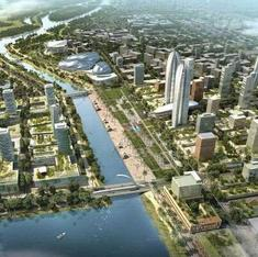 Want to know what people think about Andhra Pradesh's new capital? Just follow the money