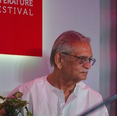 Trivenis: On Gulzar's 81st birthday, twelve poems in a form of his invention