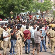 Caste stir threatens to spread in Gujarat as leader of Patel agitation is briefly detained