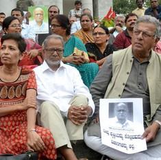 Kannada scholar MM Kalburgi, target of previous threats, shot dead in Dharwad