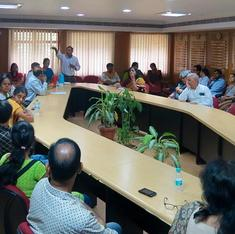 At Hyderabad university, both teachers and students are on strike – with different grouses