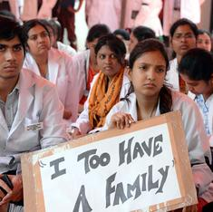 Why taking to the streets is not paying off for India's junior doctors