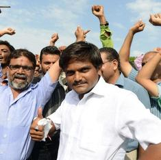 As Patel agitation continues to simmer, Modi rivals step forward to show open support
