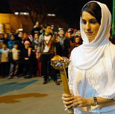 The Zoroastrian priestesses of Iran (whose father was an Indian Parsi)