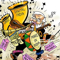 Here's how the cartoonists saw Narendra Modi's US visit