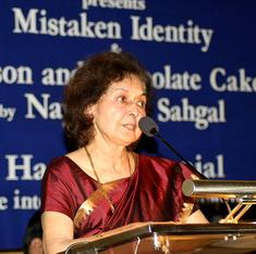 The unmaking of India: Why writer Nayantara Sahgal is returning her Sahitya Akademi Award