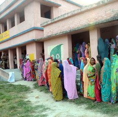 Second phase of voting in Bihar elections begins