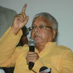 The incredible rise, fall and rise of Lalu Yadav, the man with a health advisory for Narendra Modi