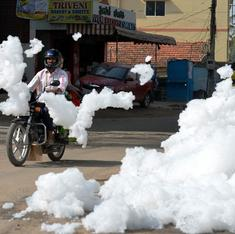 To stop its lakes from spewing foam and catching fire, Bangalore needs to break class barriers