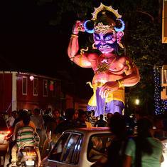 Giant effigies and cash prizes: Why Goa celebrates the day before Diwali