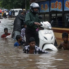 In pictures: Chennai struggles as heavy rains pour down for fifth day