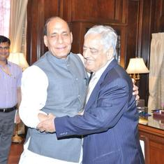 Praise for Nehru, open to debate on intolerance: Why is Rajnath suddenly the BJP's nice guy?
