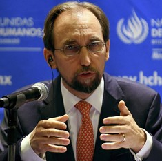 Trump's call to ban Muslims in the US is grossly irresponsible, says UN rights chief