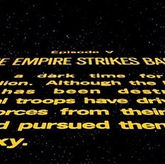 How the famous title sequence of 'Star Wars' survived imperial assaults