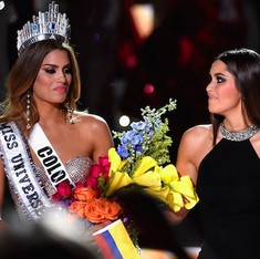 Watch: Miss Universe is Miss Colombia, no wait, it's Miss Philippines. Awkward!