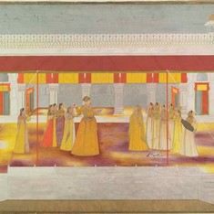 In Mughal India, Holi was celebrated with the same exuberance as Eid