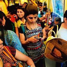 In Indian cities, women travel slow, men in a rush