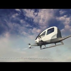 Ehang184: Watch this to find out what it's like to actually fly in a drone