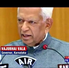 Watch the Karnataka Governor tell women students they aren't in a beauty contest