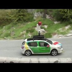 Tiny cameras in a miniature world bring magic to Google's new Street View offering