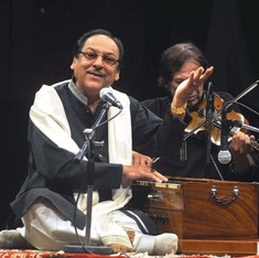You can chase away Ghulam Ali but there is no escaping his music