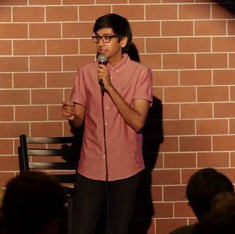 'Happy gay or AIDS gay? Disappointed gay.' This standup comic explains what it means to be gay and Indian