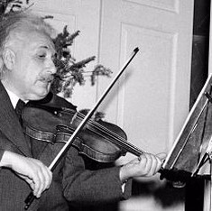 Good vibrations: The role of music in Einstein's thinking