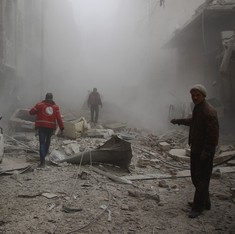 50 dead as Russian missiles hit hospitals and schools in Syria: UN