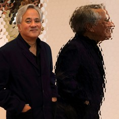 Anish Kapoor thrives on colour, so why has he monopolised the world's darkest substance?