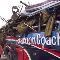 At least 15 killed, including government employees, in Peshawar bus blast
