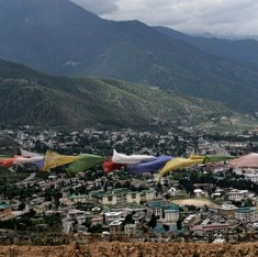 Forest fires are burning up Bhutan's wilderness