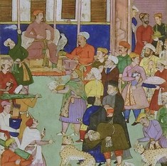 Easter eggs in Akbar's court: Paintings of Mughal celebrations, 1610