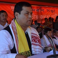 In Assam, the Congress spars with BJP over its chief ministerial candidate's past