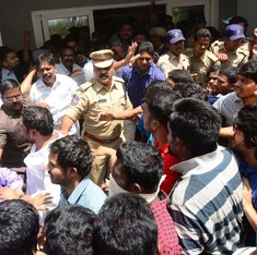 It's the police, not Hyderabad University students, who must be charged with breaking the law