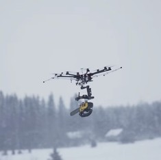 Flying nightmares: This is what a drone with a chainsaw looks like