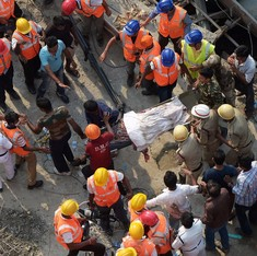 On the first Monday after the Kolkata flyover tragedy, fear was a constant emotion