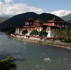 Across the border, Bhutan too is struggling with water shortages