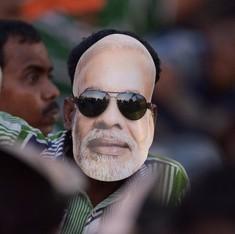 Why the Modi mask is no longer in fashion in Delhi's iconic Sadar Bazaar