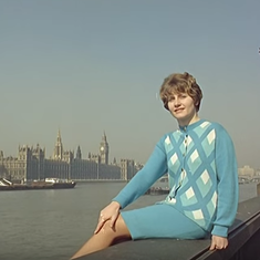 A 1965 British video smugly traces the 'surprising' origins of chic cashmere to 'primitive Kashmir'