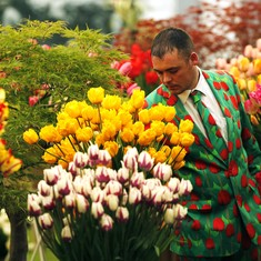 The flower breeders who sold X-ray lilies and atomic marigolds
