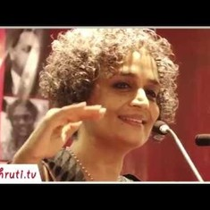 Watch: Arundhati Roy explains why caste is central to the conflict between the State and its people