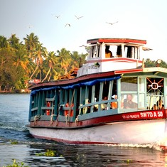 India's first solar-powered ferry will debut in sunlit Kerala