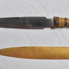 Why did Tutankhamun have a dagger made from a meteorite?