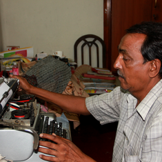 As the world goes digital, one man helps keep Kolkata's typewriters tapping away