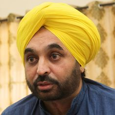 AAP MP Bhagwant Mann apologises for live streaming video from Parliament