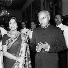 Did floods bring the end of Zulfiqar Ali Bhutto's regime?