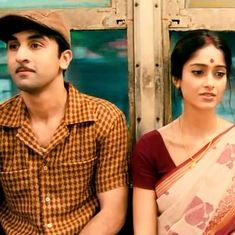 What has changed in the emotional landscape of the happy-sad song in Hindi film music?