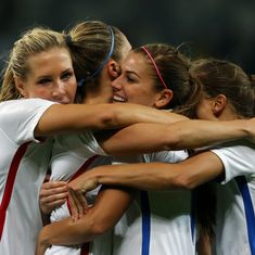 The score: Germany, France, Brazil, USA all win their women's football matches at the Olympics